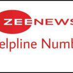 zee news helpline number