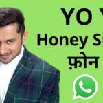 honey singh phone whatsapp number