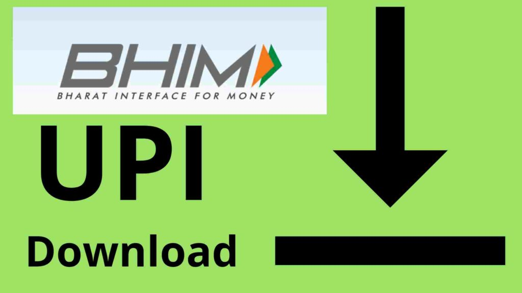 bhim upi download
