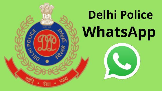 delhi police whatsapp number