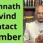 ramnath_kovind_contact_number