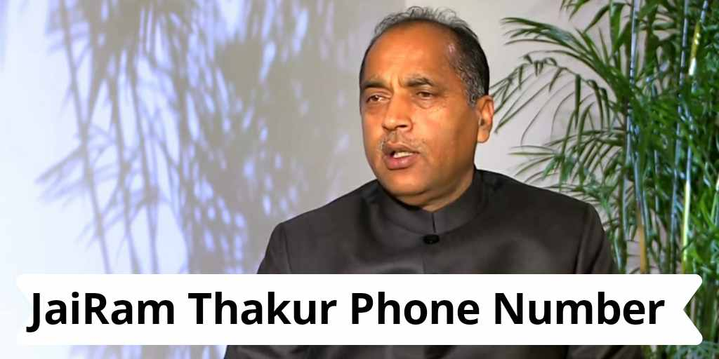 Jairam thakur phone helpline number - whatsapp