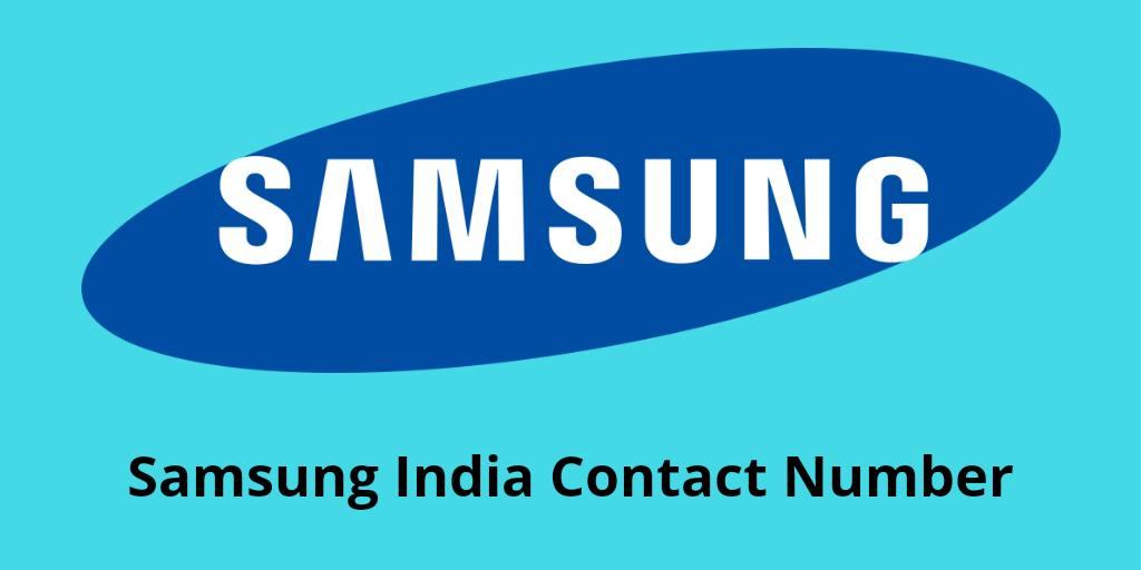 Samsung हेल्पलाइन नंबर - samsung customer care number india
