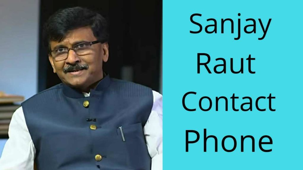sanjay raut contact number - whatsapp phone
