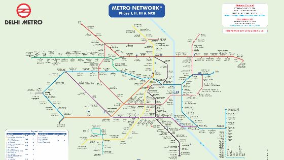 दिल्ली मेट्रो मेप डाउनलोड - delhi metro map