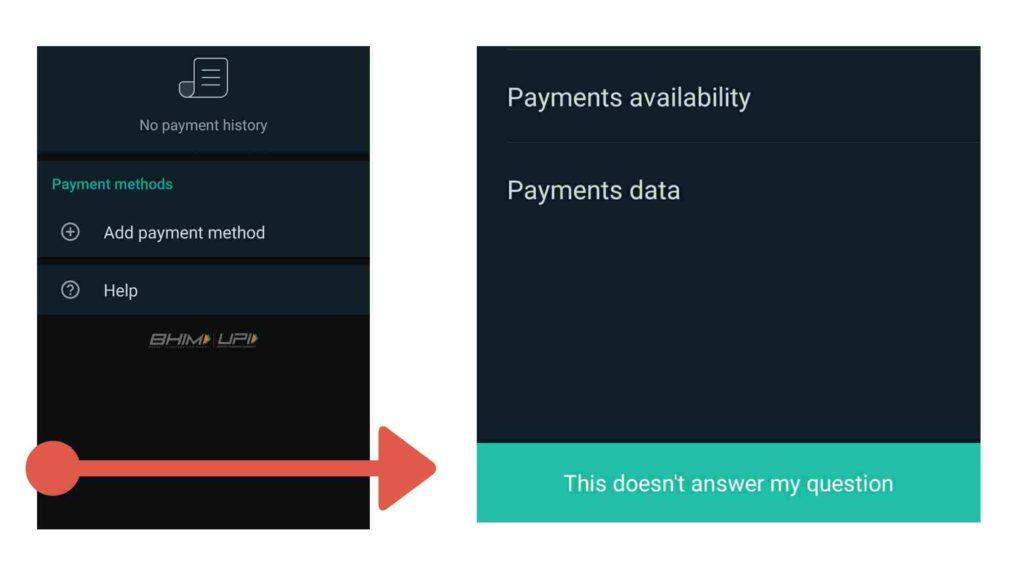 whatsapp payment helpline number