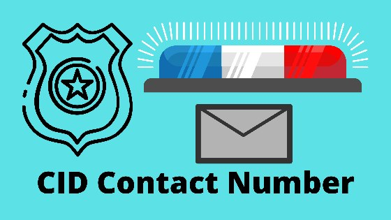 cid contact phone helpline number